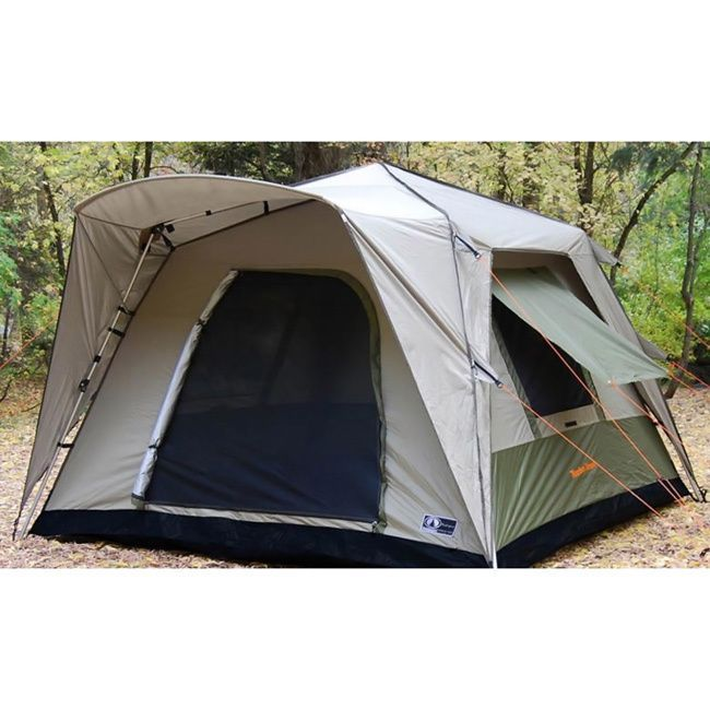 This Black Pine pop-up six-person tent makes c&ing out fast and easy  sc 1 st  Pinterest & This Black Pine pop-up six-person tent makes camping out fast and ...