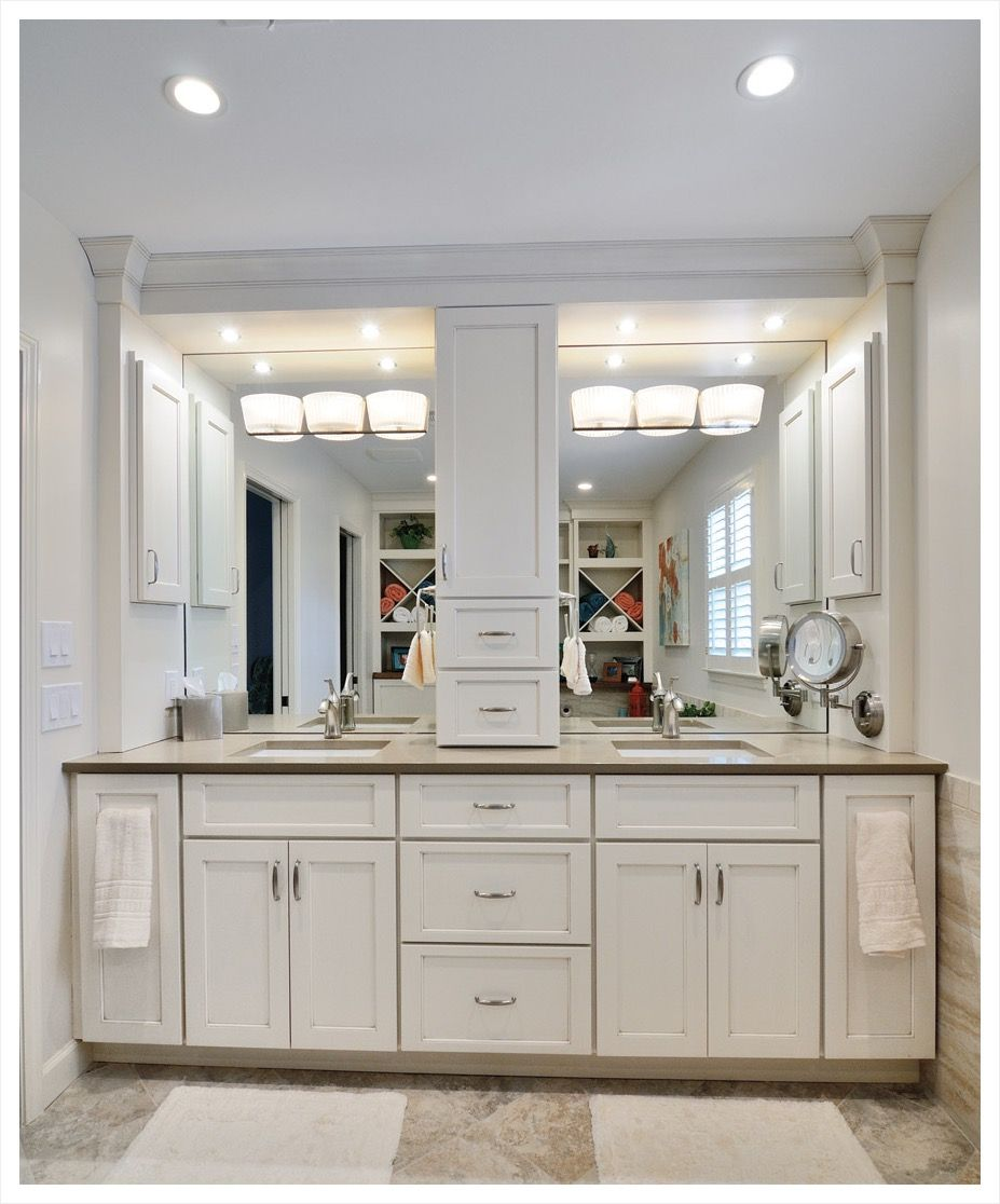 Furniture Adorable Design Bathroom Vanity Tower Cabinets Come With Rectangle Shape White Color Wooden Bathroo Bathroom Vanity Eclectic Bathroom Bathroom Decor