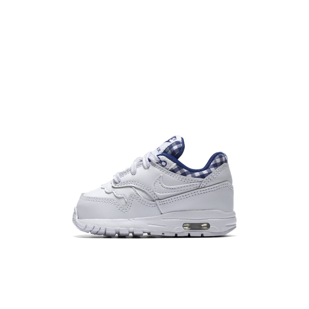 brand new 011d0 a86b8 Nike Air Max 1 QS Infant Toddler Shoe Size 5C (White)