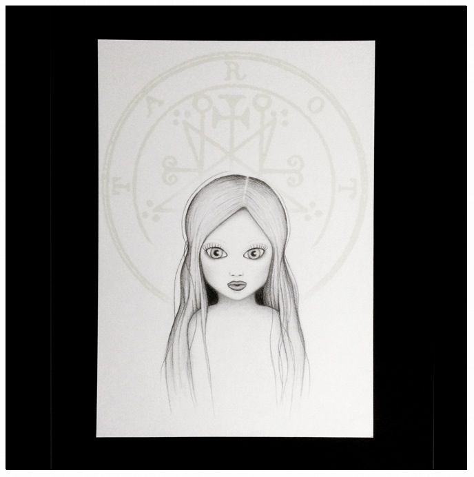 Original illustration by Viola RoccagliPencil on paper (with printed detail) .Sizes: 29,5 cm x 42 cm / 11,61 inches x 16,5 inches approx200 GSM paperSigned by the author.