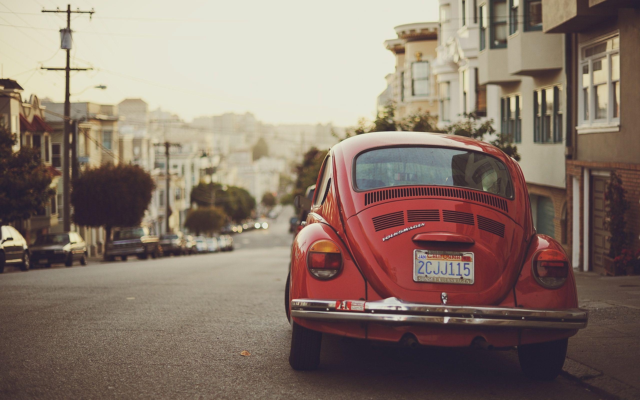 iconic car - the volkswagen beetle