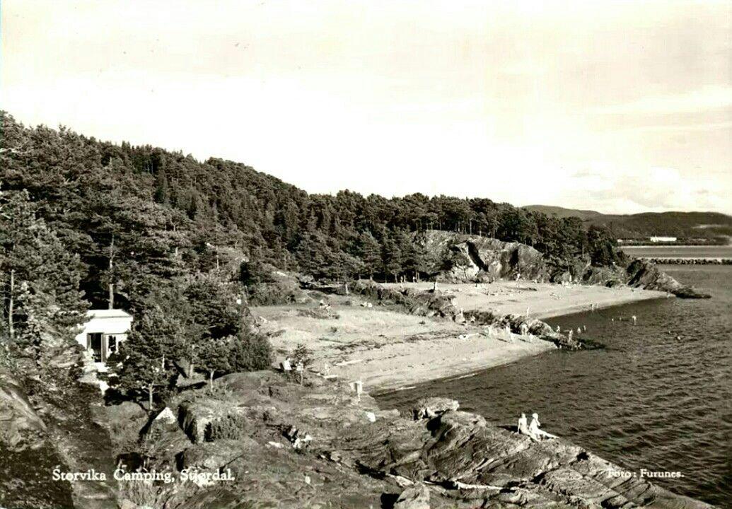 Nord Trondelag Fylke Stjordal Kommune Storvika Camping Utg Furunes Brukt 1963