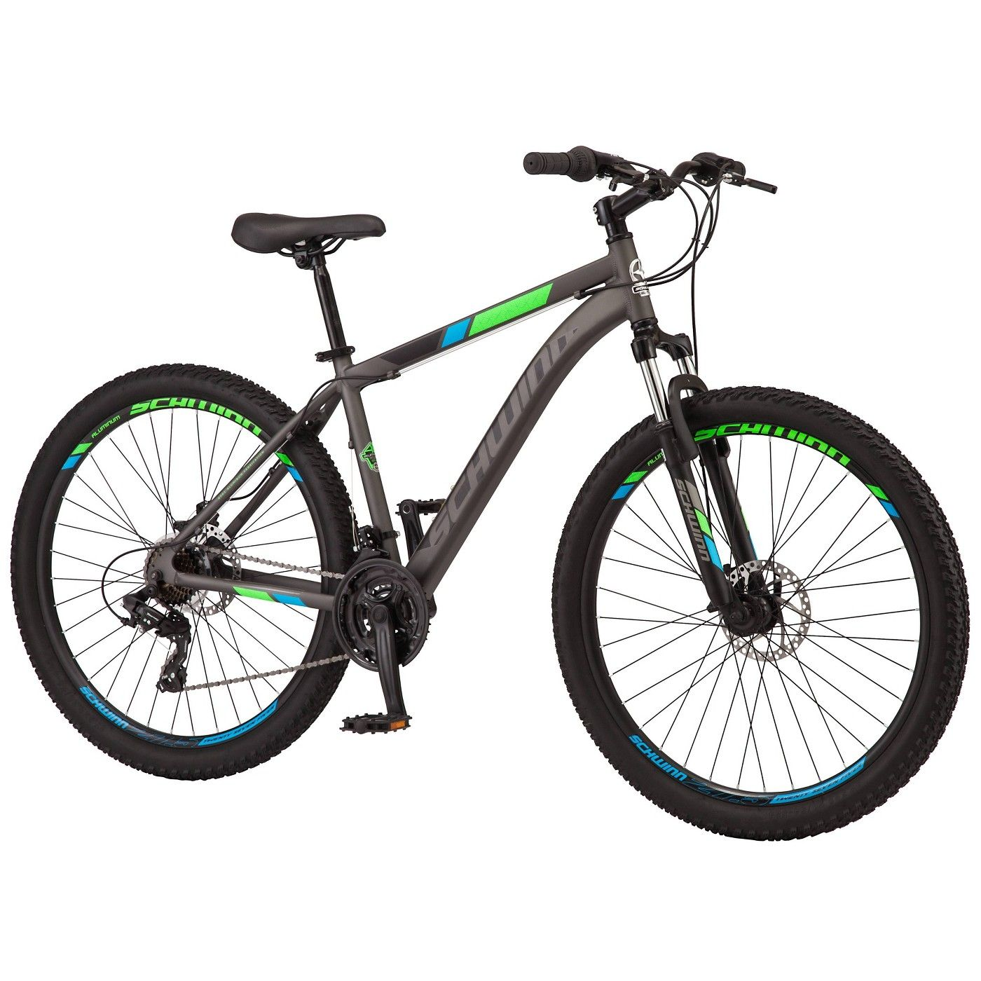 Schwinn Men S 27 5 Mountain Bike Gray Schwinn Best Mountain Bikes Schwinn Bike