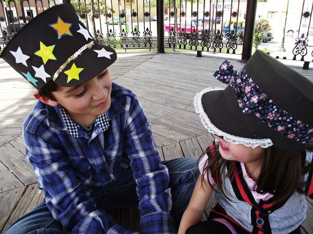 DIY Funny foam hats for kids !