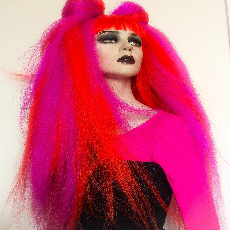 Hair Fallswool Fallsdread Fallshair Extensionsgothic Hair And