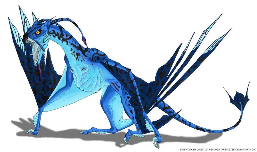 toruk the great leonopteryx from the avatar movie