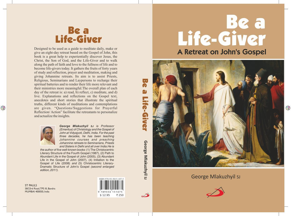 Be A Life Giver  Homily Aids  Retreats    Online Book