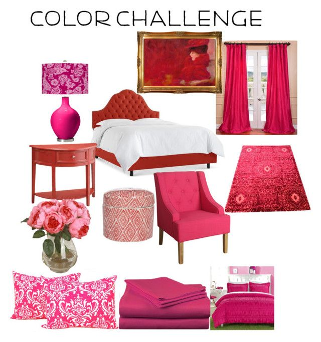 """""""Untitled #19"""" by clilydesign on Polyvore featuring interior, interiors, interior design, home, home decor, interior decorating, EFF, HomePop, Spirit Linen and Chic Home"""