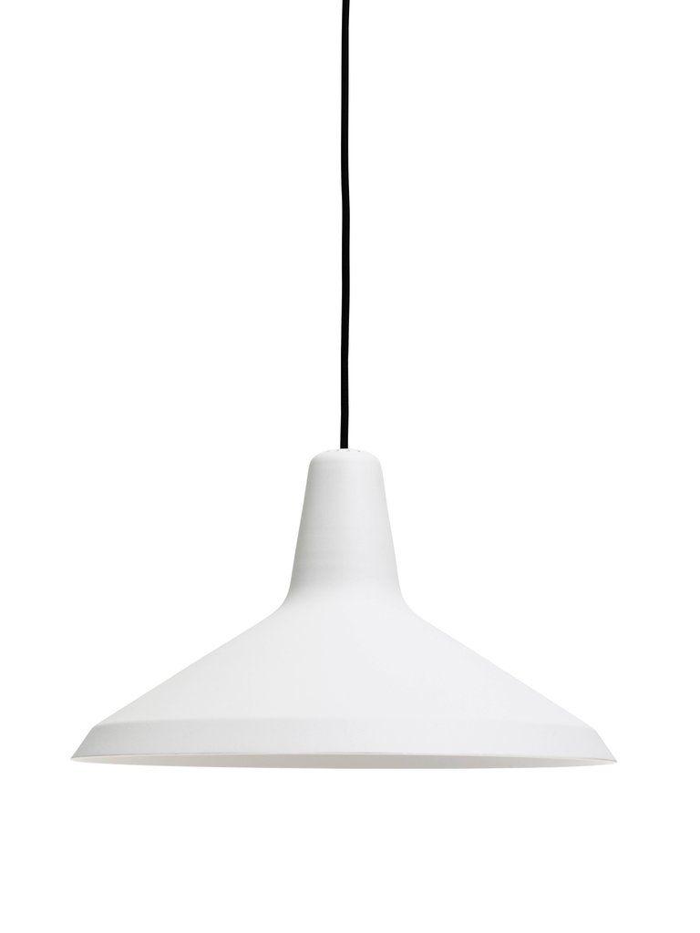 Greta magnusson grossman ugu pendant lamp in white in jane