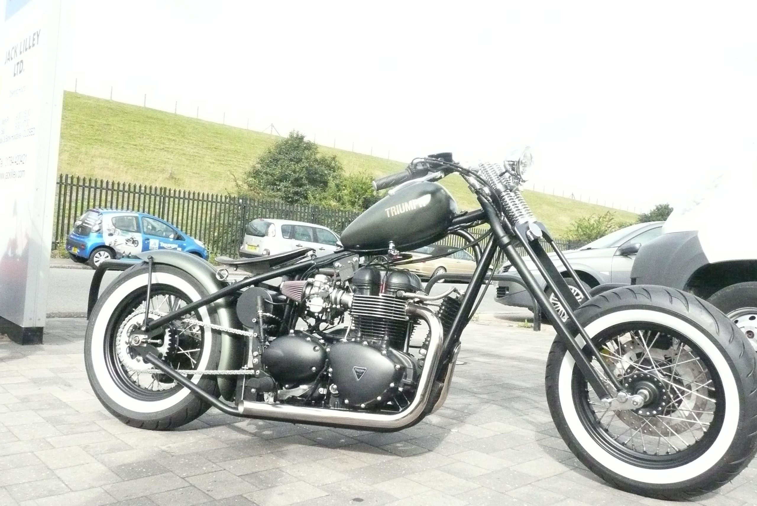 The bobber on the forecourt of our Ashford branch.