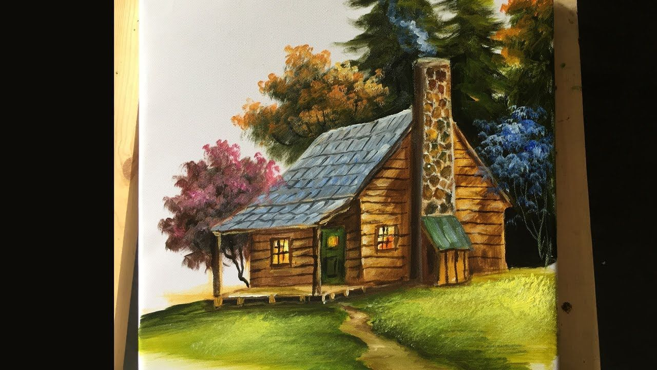 Pintura Acrilica Paredes Painting The Basic House In Acrylics Lesson 2 Pintura