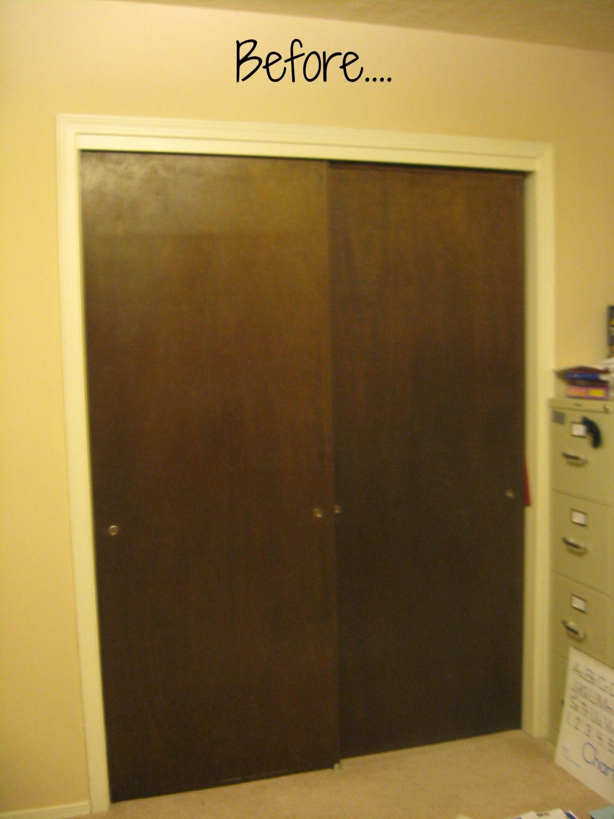 78 Best Images About Sliding Closet Door Redo On Pinterest | Sliding Barn  Doors, Closet