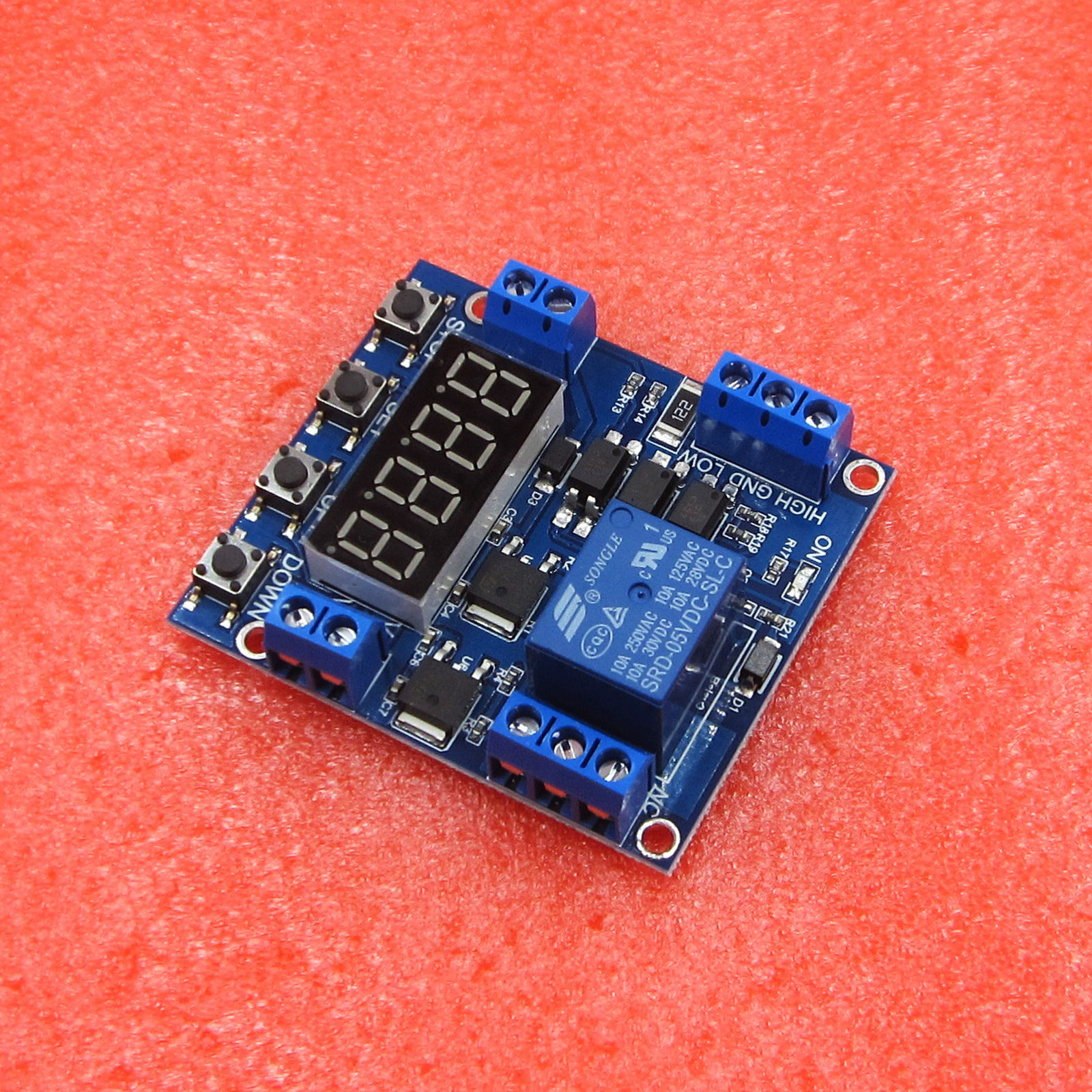 4.78 1Ch Relay Module Trigger Delay Cycle Power Off