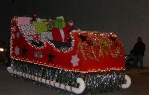 The Grinch Christmas Float Ideas.Grinch Sleigh Float Float Ideas Christmas Parade Floats