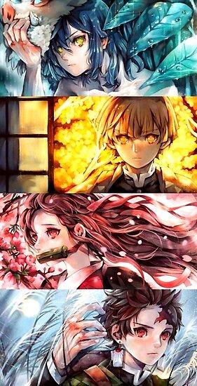 Demon Slayer Kimetsu No Yaiba Poster By Espressiodesign Anime Demon Anime Fanart Slayer Anime