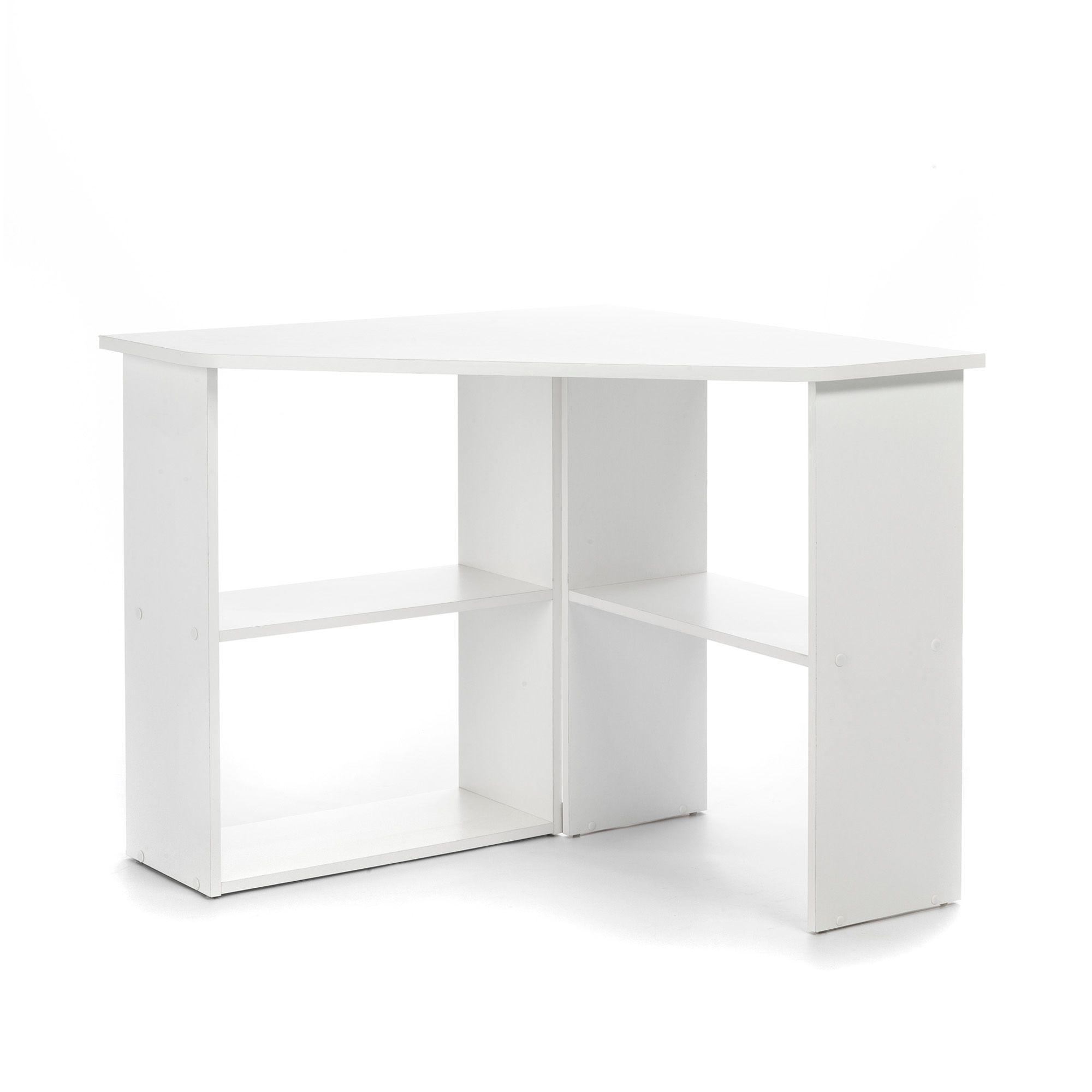 petit bureau d angle blanc - Hauteur Bureau Adulte