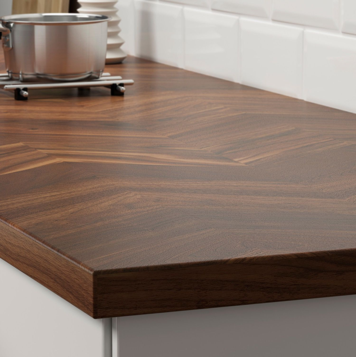Ikea Kitchen Counter: #9: BARKABODA Wood Countertop