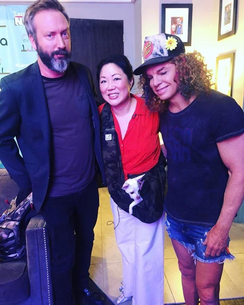 PsBattle: Tom Green, Margaret Cho, and Carrot Top