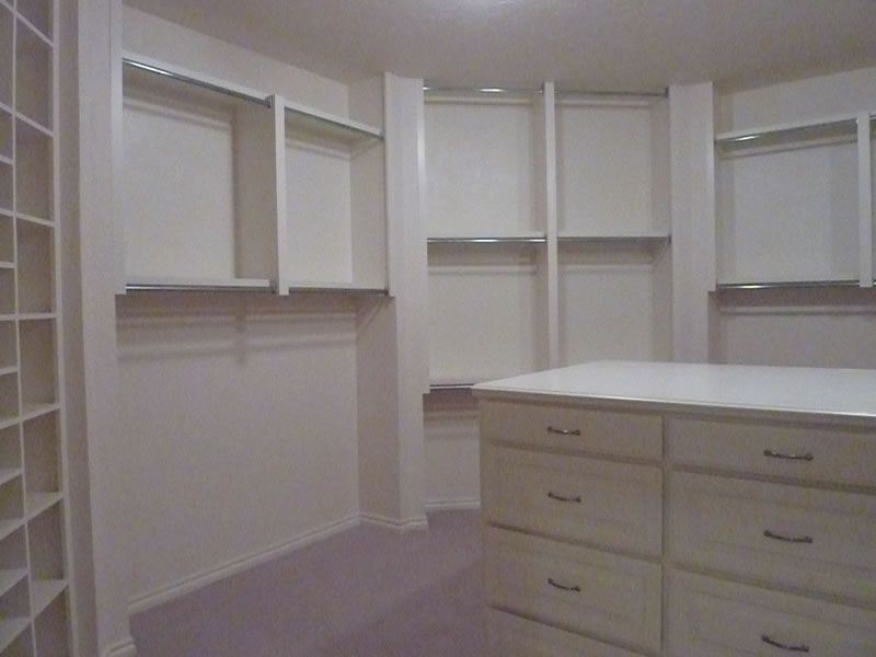 Darrell Atchley Construction » Master Closet