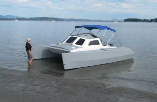 skoota 20 | Skoota 20 Power Cat | boat building | Wooden