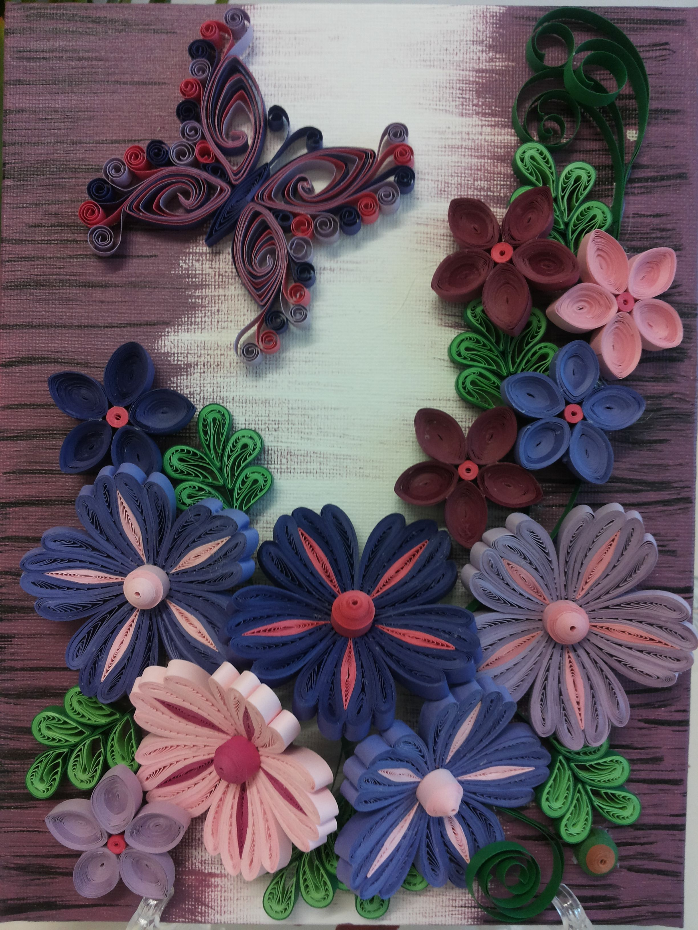 Tablou Paper Quilling Flowers
