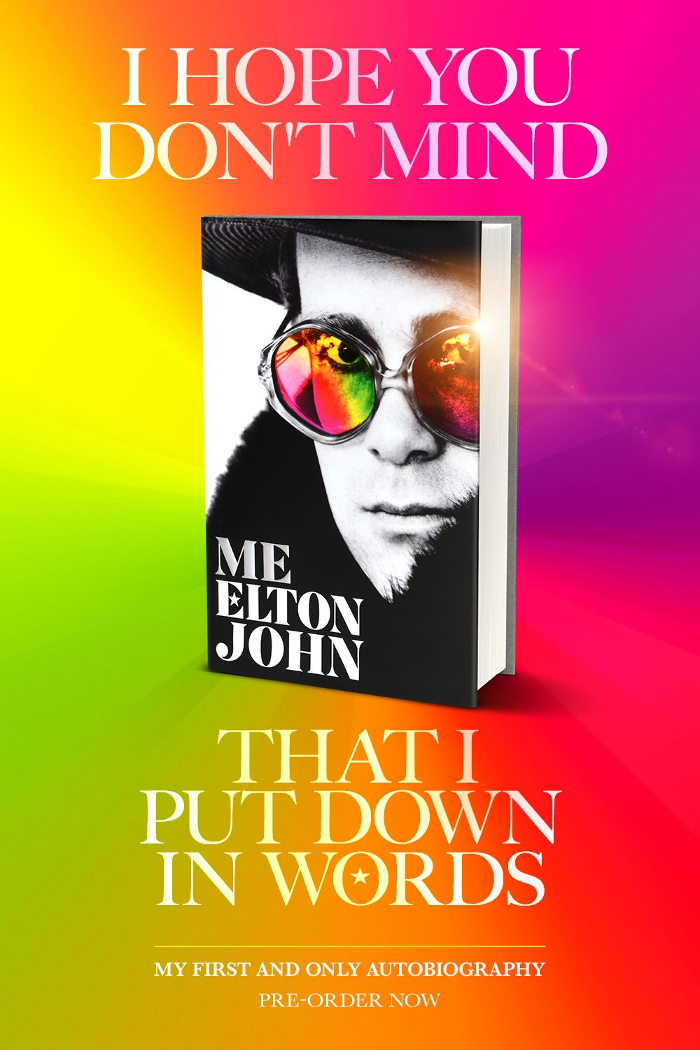 The First And Only Official Autobiography From Elton John Now Available For Pre Order Elton John I Love Books Book Club Books