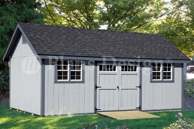 Storage Shed Plans 12 X 24 Gable Roof Style D1224g Material List Included Building A Shed Diy Shed Plans Shed Plans