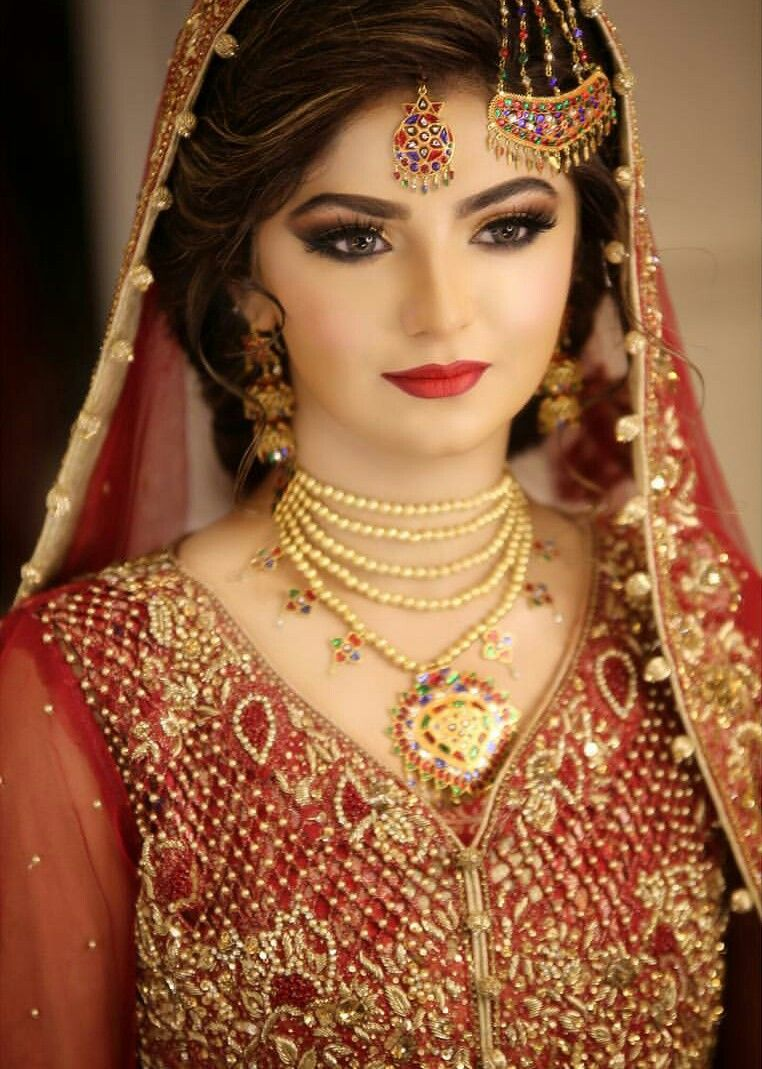 mashallah | jewellery | pakistani bridal makeup, pakistani