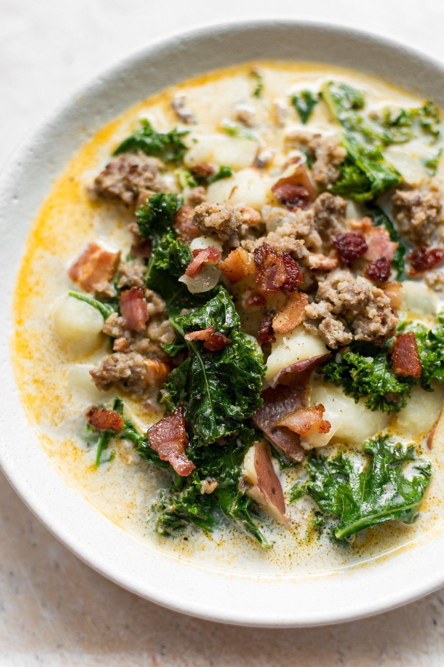 Zuppa Toscana Copycat Recipe Toscana recipe, Kale soup