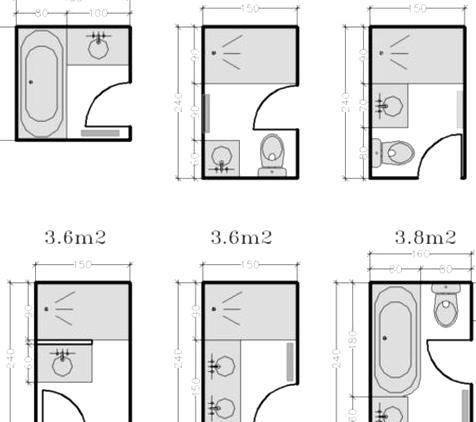 Home Garden 89 Ides Pour Amnager Une Petite Salle De Bains In 2020 Floor Plans Beautiful Quality