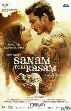 Sanam Teri Kasam 2016 Hindi Movie 720p 1.2GB WEBHDRip AAC MSubs MKV