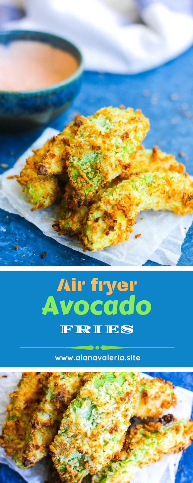 Air fryer Avocado fries Avocado fries, Easy cooking