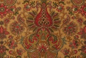 3.6 Yards Mill Creek Savita Cotton Jacquard Drapery Fabric in Beechwood