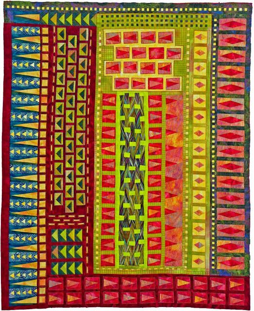 Quilt Inspiration: Totally Tubular Quilts by Rita Hutchens