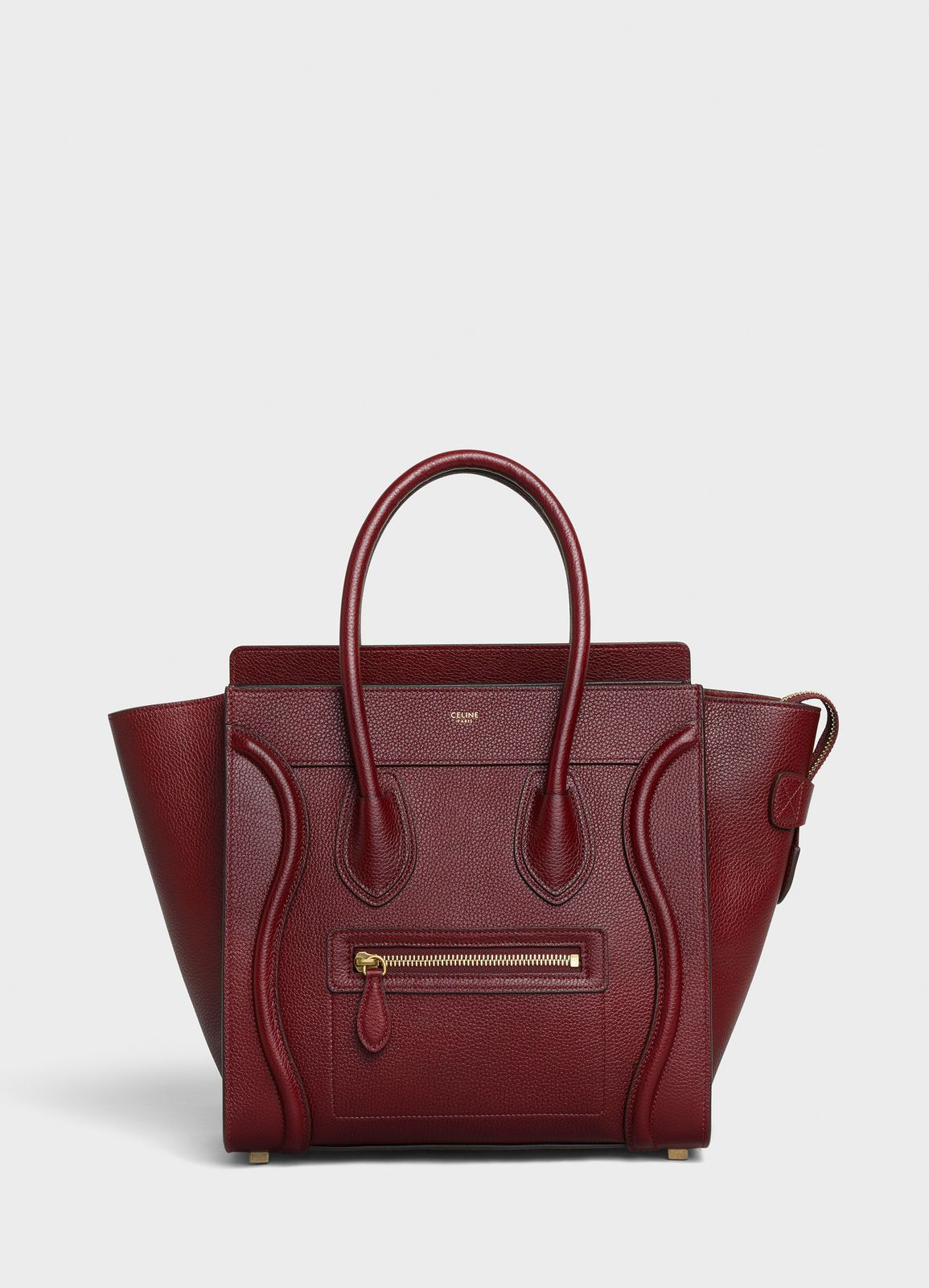 Micro Luggage Handbag In Drummed Calfskin Celine See Large Version The First Place