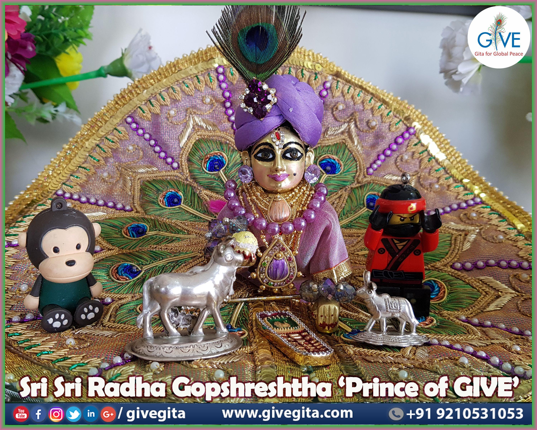 🌻🌻🌻Please accept the blessings of Sri Sri Radha