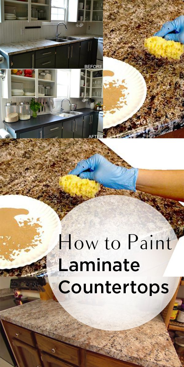 How To Paint Laminate Countertops Diy Home Painting