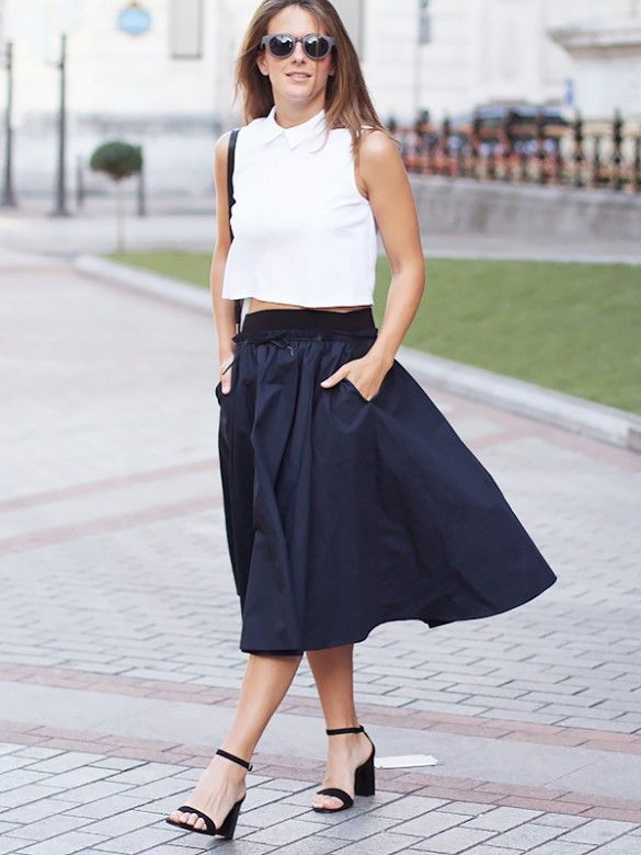 11 Awesome Fashion Blogs On The Rise | Full midi skirt, Awesome ...