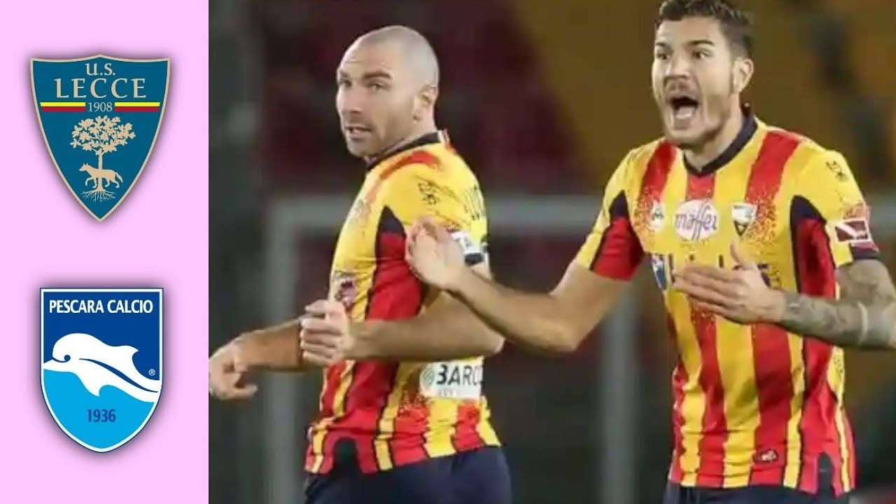 Lecce Vs Pescara All Goals Extended Highlights 20 21 In 2020 Pescara Lecce Goals