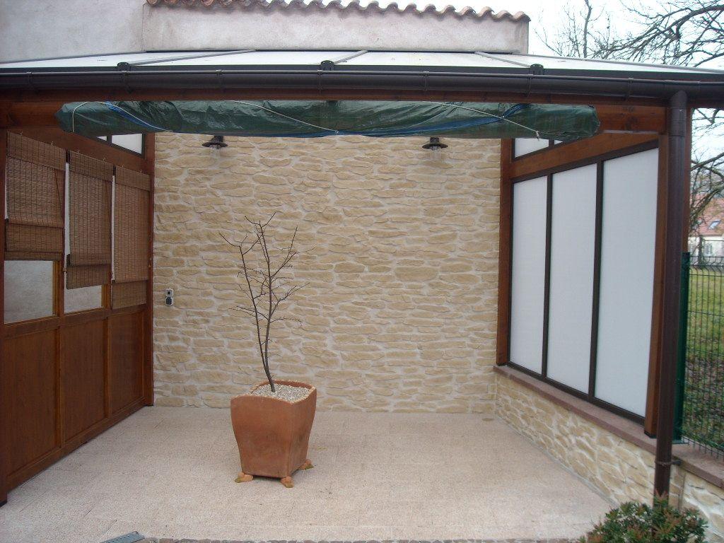 Pin Von Ambientestones Auf Garten Mit Steinoptik Wandgestaltung Wandgestaltung Garten Landhausstil