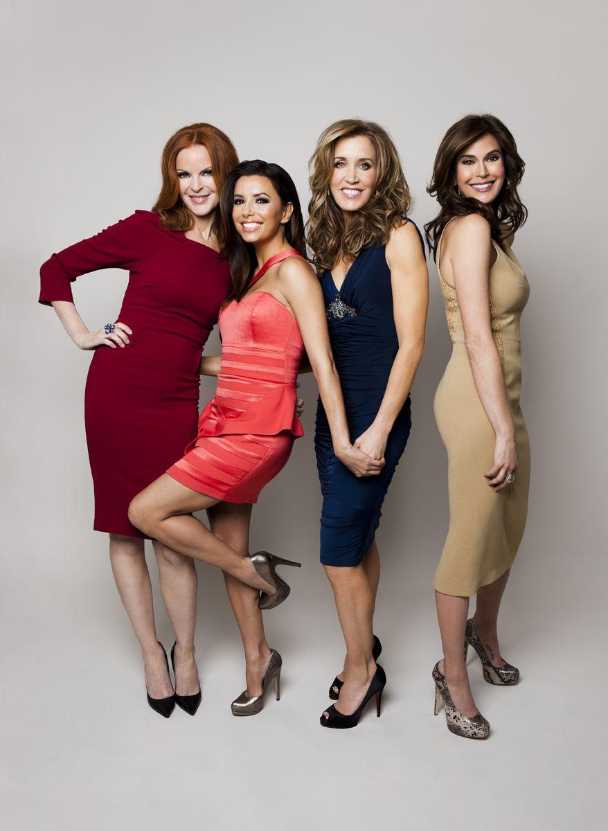 3437b7598ae Desperate Housewives: Marcia Cross, Eva Longoria, Felicity Huffman, Teri  Hatcher