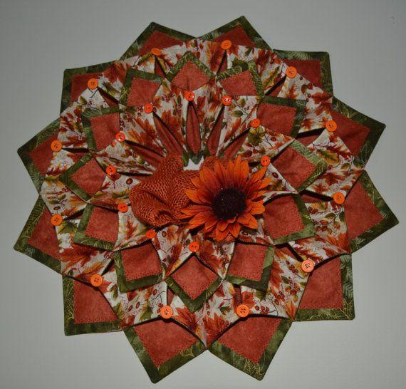 Www Fotoventasdigital Com Diy Burlap Wreath That Folding: Fall Fold'n Stitch Wreath