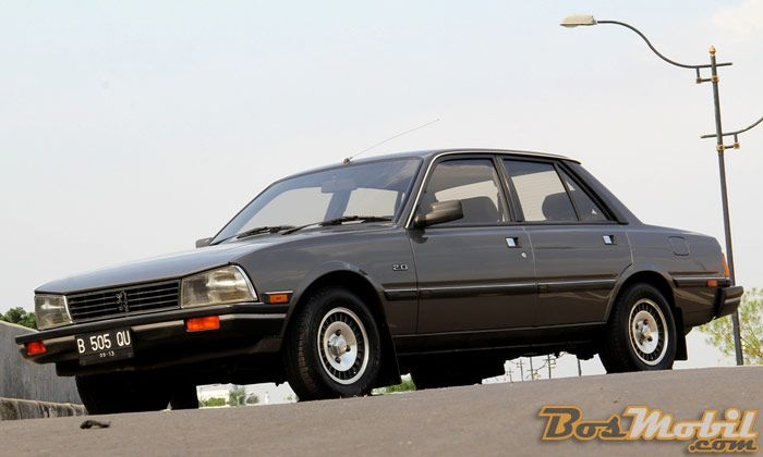 peugeot 505 gr 1987 : genuine from its roots | bosmobil