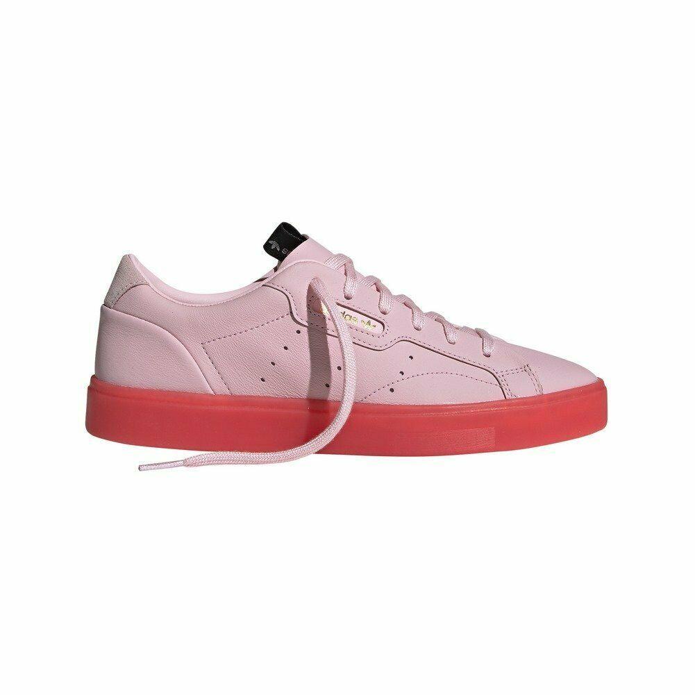 Detalles de adidas Sleek W Zapatillas Rosa Mujer | Pink ...