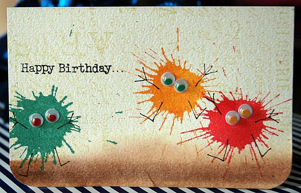 Great Birthday Card Idea From Sarathings Blogger And Papercrafter
