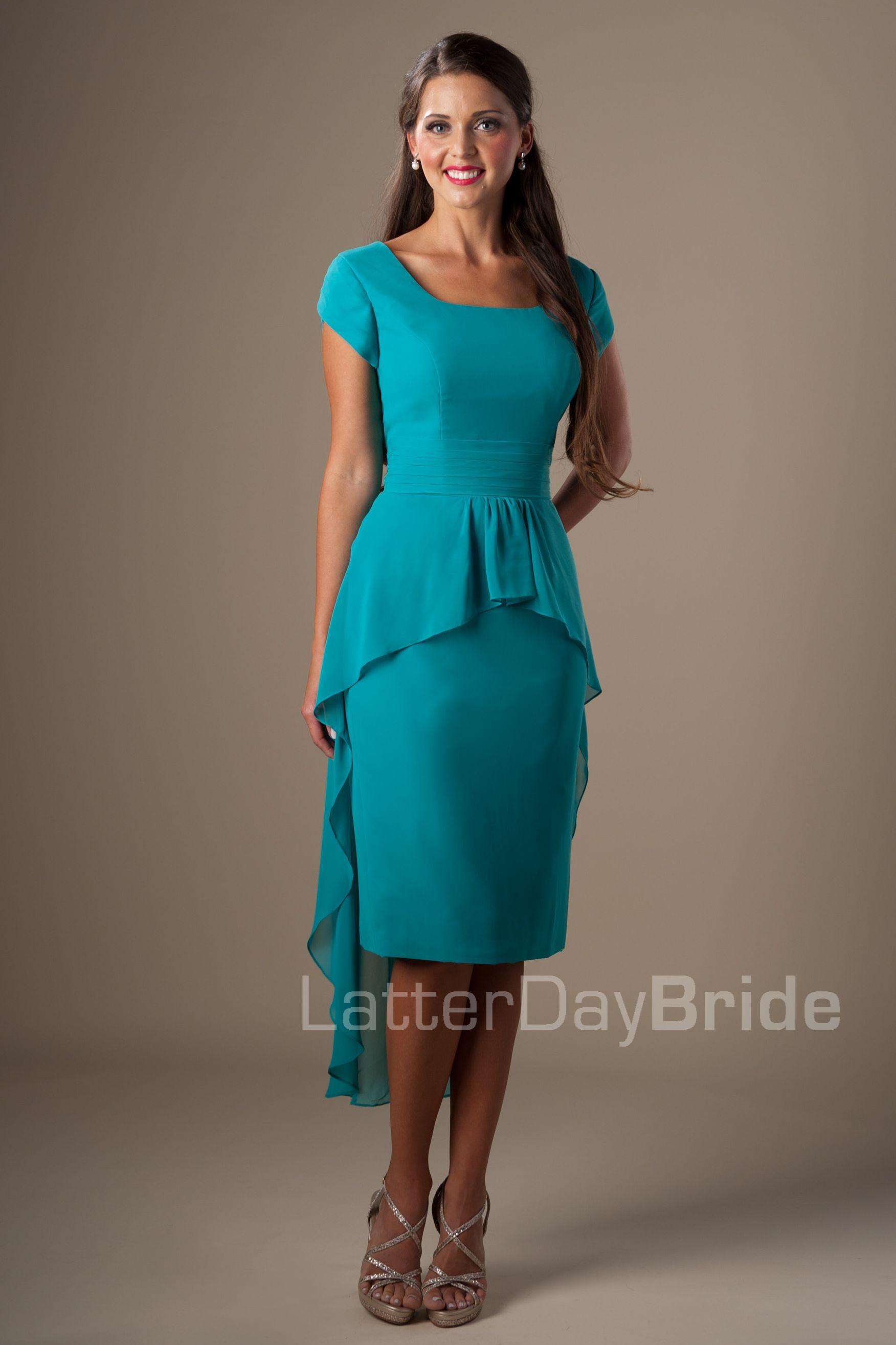 Modest Bridesmaid Dresses : Suzette | dresses | Pinterest | Moda ...