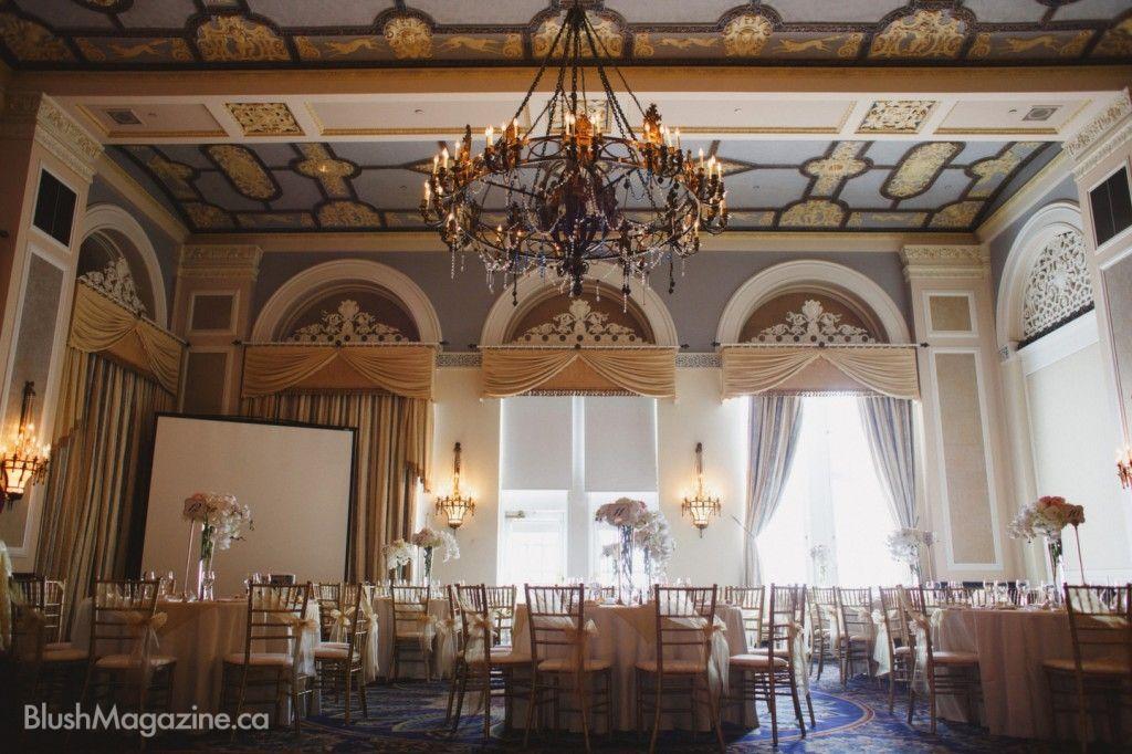 Andrea & Andre's Fairmont Hotel MacDonald Wedding
