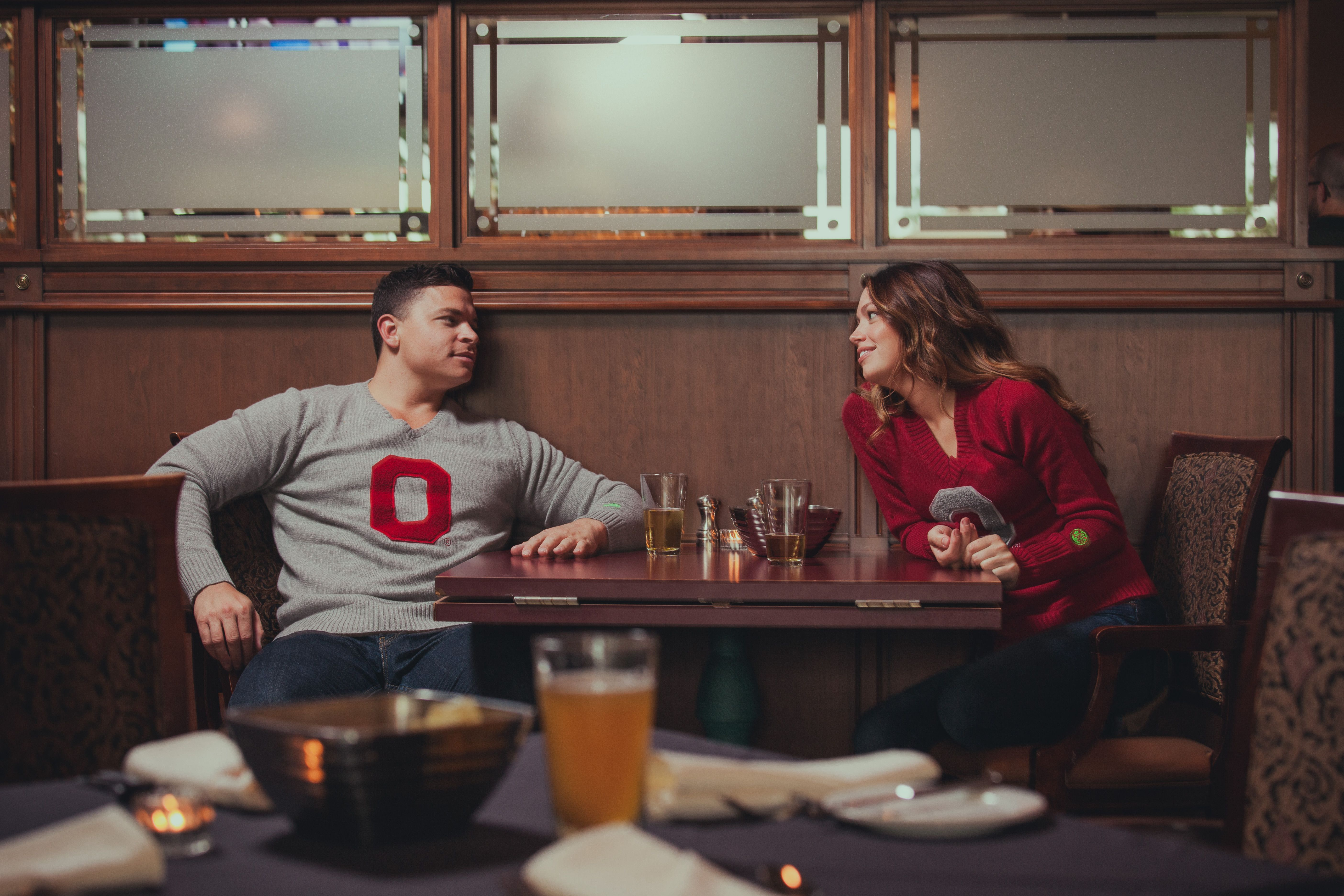 Ohio State University sweaters available now at Buckeye