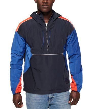 Men's Cagoule Colorblocked Half Zip Hoodie | Products in