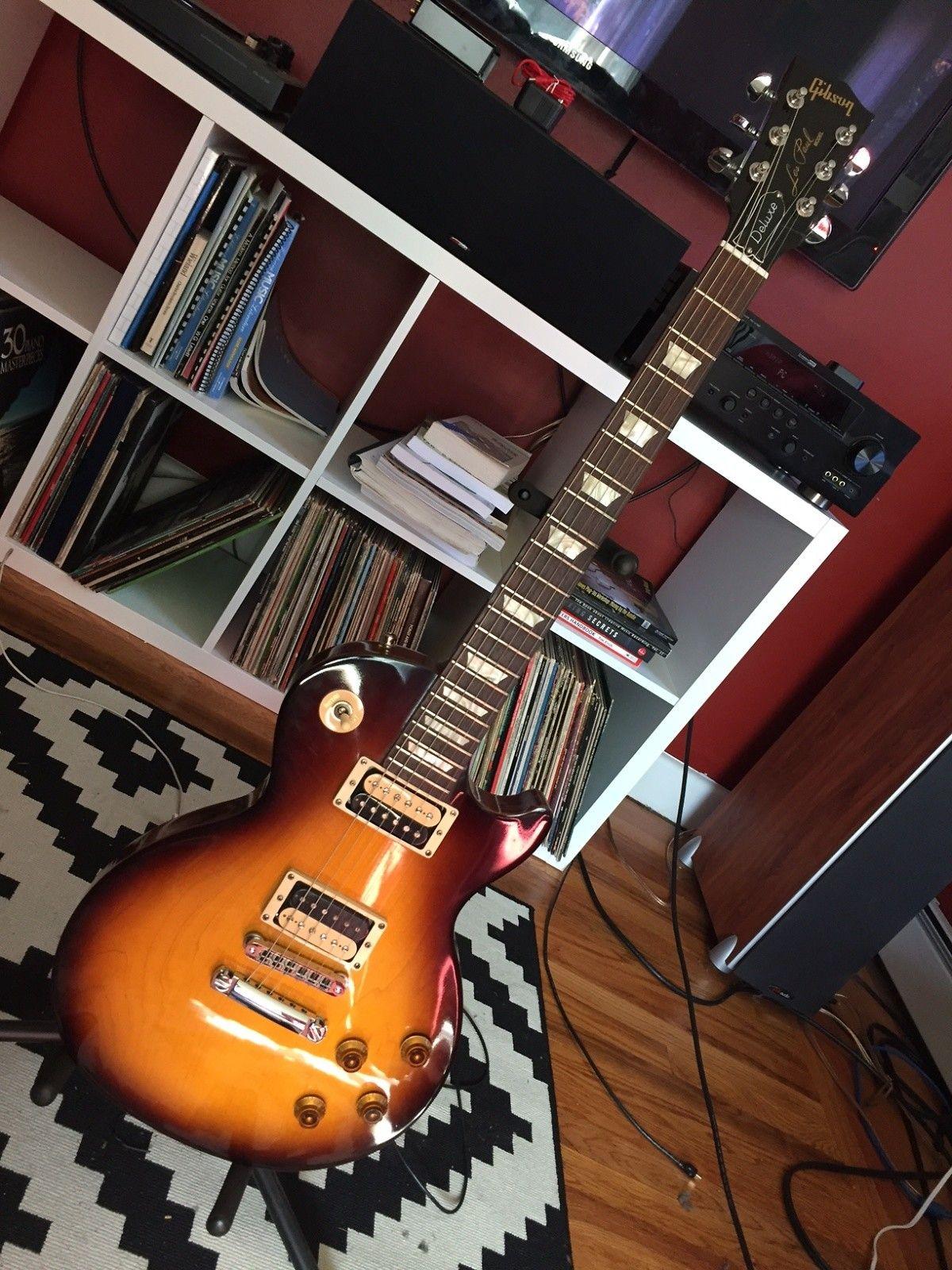 Gibson Les Paul Studio Deluxe 2010 Sunburst | Reverb